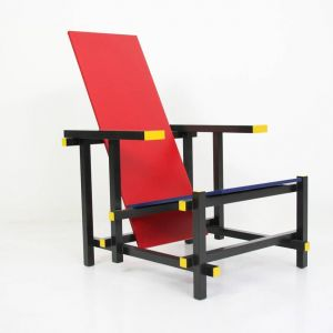 Chaise rouge et bleue - La chaise rouge et bleue de gerrit rietveld ...