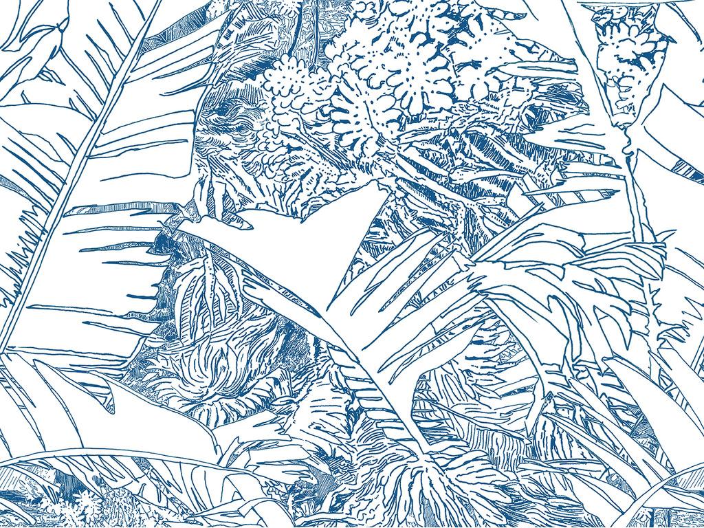 Papier peint jungle - Papier peint exotique ...