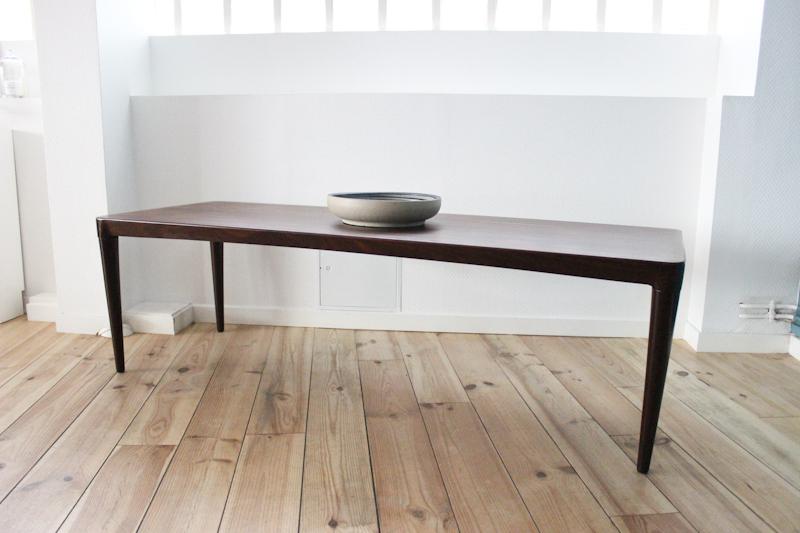 table basse en palissandre de rio. Black Bedroom Furniture Sets. Home Design Ideas