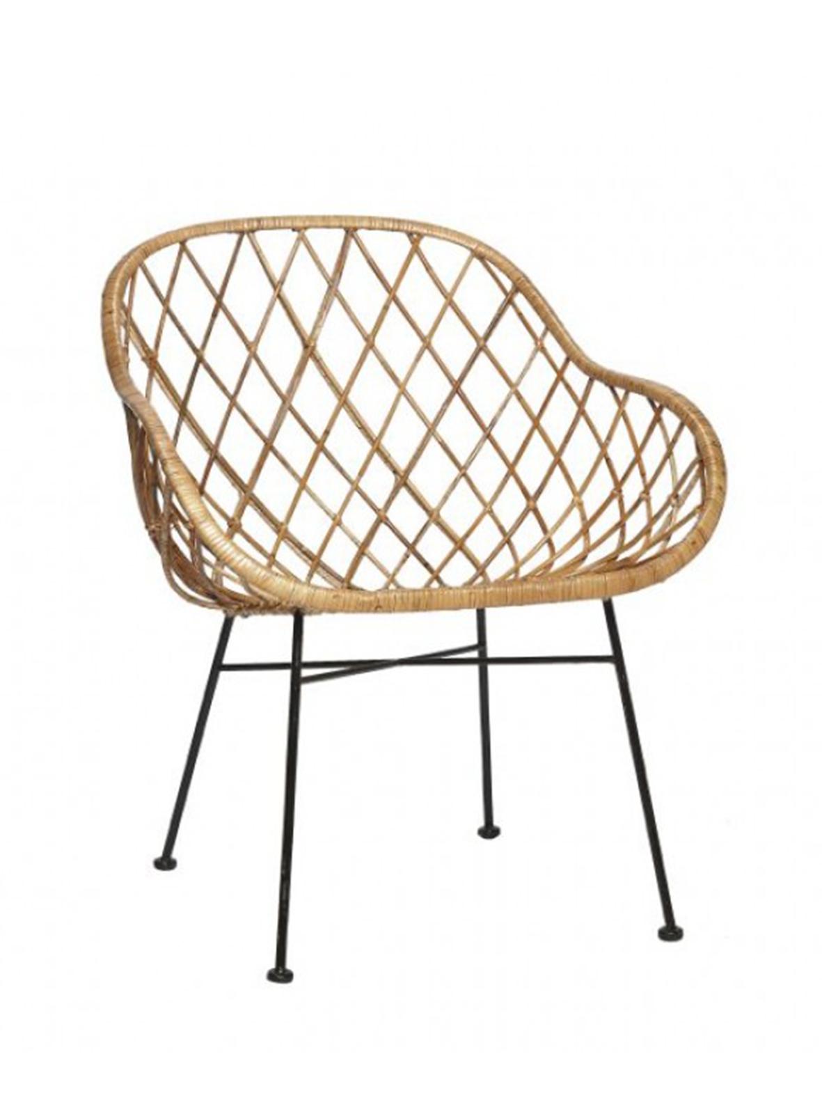 fauteuil kiria velours rose poudr. Black Bedroom Furniture Sets. Home Design Ideas