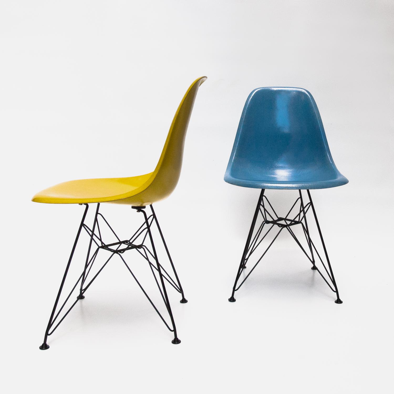 Chaise design fibre de verre