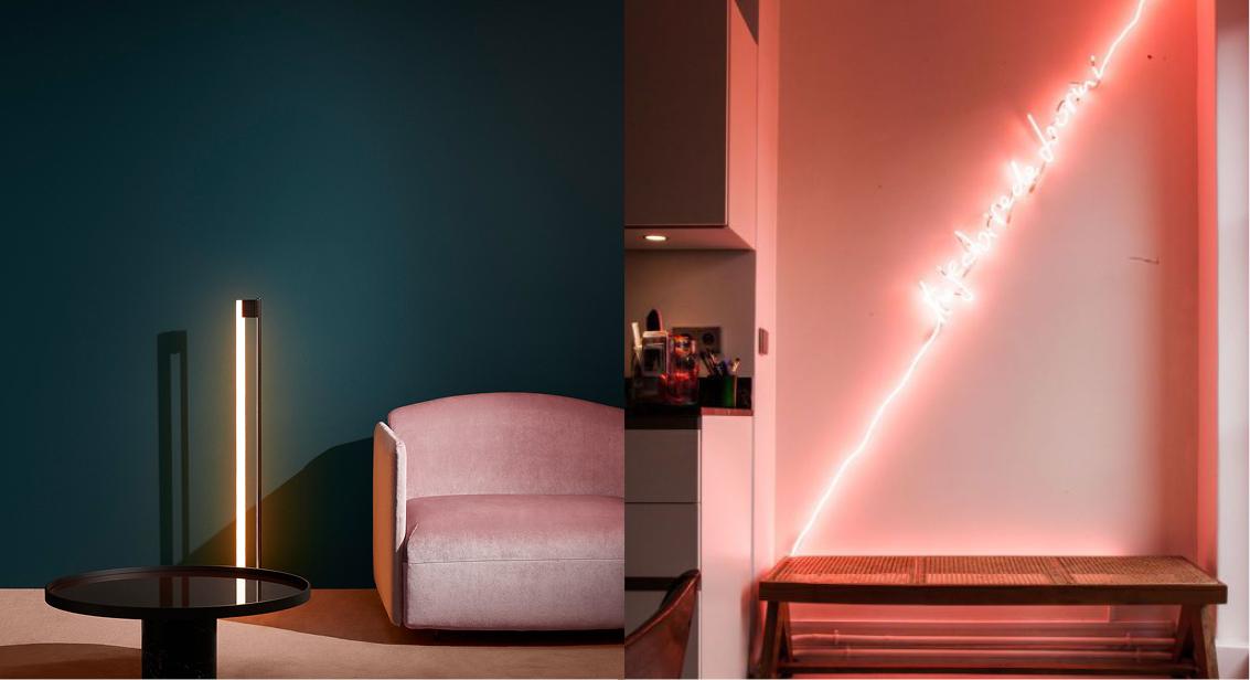 Tendance n on led fluorescent moodboard goodmoods for Miroir ultrafragola