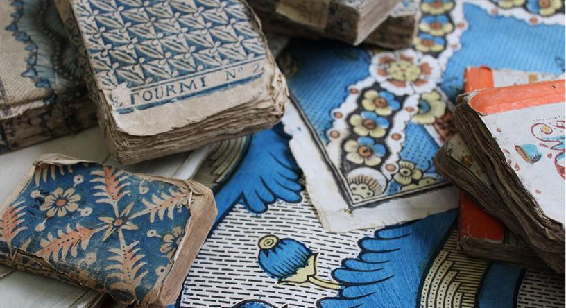 antoinette poisson petits papiers peints parisiens du. Black Bedroom Furniture Sets. Home Design Ideas