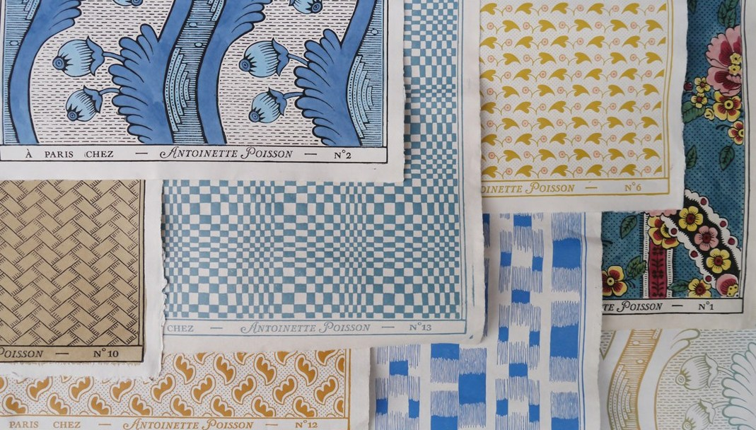 Antoinette poisson petits papiers peints parisiens du for Antoinette poisson
