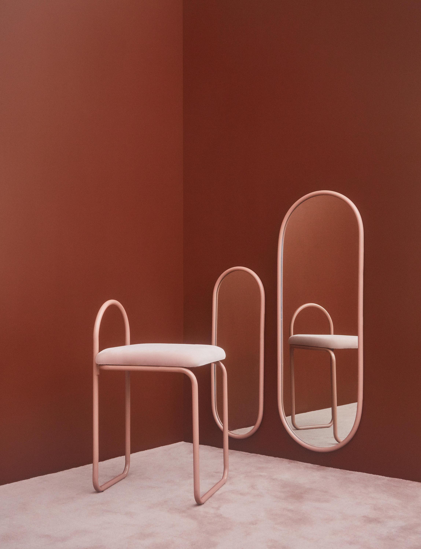 miroir rotin vintage fleur. Black Bedroom Furniture Sets. Home Design Ideas