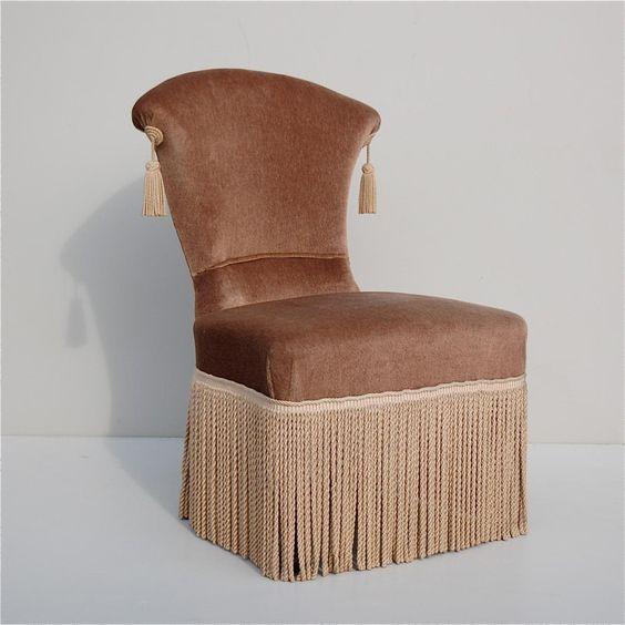 Paire de chaises ann es 50 vedette - Ou trouver des housses de chaises ...
